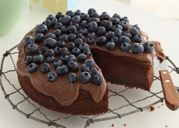 Melleņu-šokolādes kūka