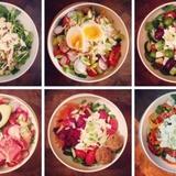 Diētiski salāti pusdienām vai vakariņām - sešas receptes