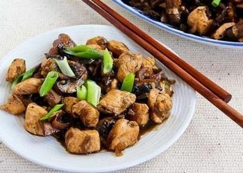 Vistas gaļa taizemiešu gaumē