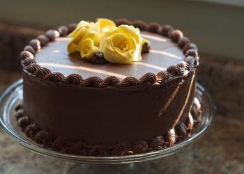 Vecmāmiņas šokolādes torte