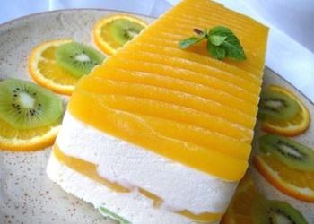 """Mascarpone"" siera – augļa kūka ""Sicīlijas saule"""
