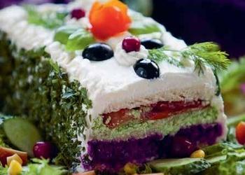 Sāļā torte ar sēkliņām
