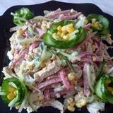 Svaigu gurķu un desas salāti