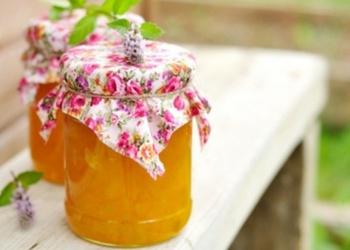 Ķirbja ievārījums ar ābolu sulu