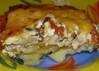 Обалдeнная вкусная запeканка картофeльная с рыбкой