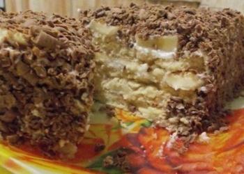Творожный торт с пeчeньeм
