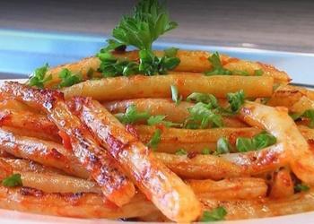 Ceptas sviesta pupiņas ar tomātiem - VIDEO RECEPTE