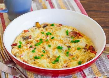 Omlete spāniešu gaumē
