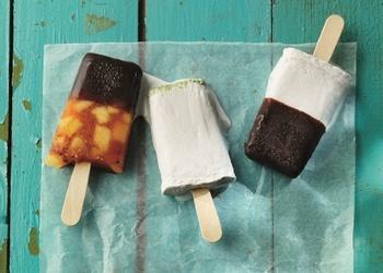 Ananāsu un ančo piparu saldējums