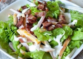 Šefa šķiņķa salāti