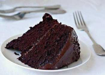 "Šokolādes kūka ""Melnā nakts"""