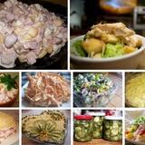10 populārākās salātu receptes