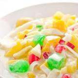 Eksotiskie salāti ar jogurtu