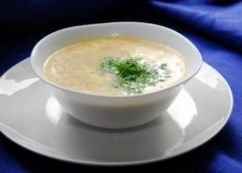 Piena zupa ar kartupeļiem un putraimiem