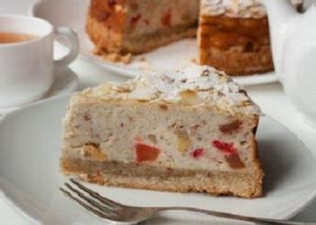 """""""Ricotta"""" siera – mandeļu kūka"""