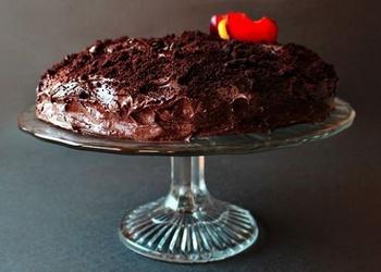 Šokolādes torte glazūrā