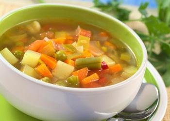 Ātrā dārzeņu zupa