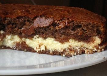 Biezpiena – šokolādes kūka