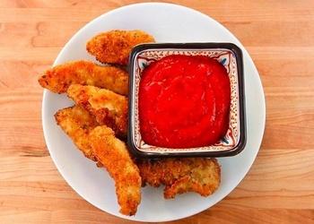 Vistas filejas nūjiņas ar tomātu mērci