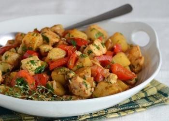 Tītara gaļa ar dārzeņiem