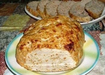 Cūkgaļas un vistas filejas gaļas maize