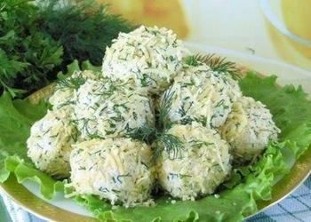 Biezpiena kroketes ar dārzeņu salātiem