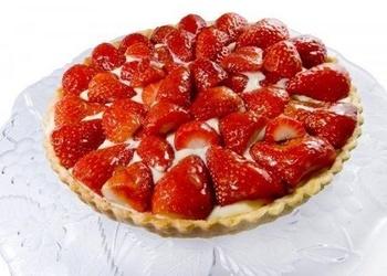 Itāļu zemeņu kūka