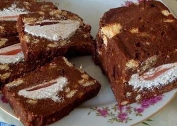 Zefīru - cepumu torte