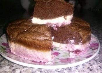 Biezpiena – ķiršu kūka