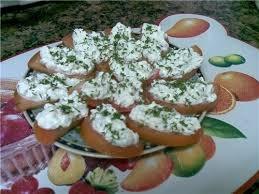 Запеченный бутерброд с творогом
