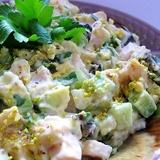 Avokado un vistas salāti