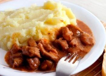 Gaļas mērce otrajiem ēdieniem
