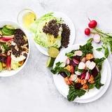 Veselīgu salātu receptes sportiskiem sasniegumiem