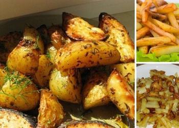 Cepti kartupeļi - 3 vienkārši pagatavojamas receptes
