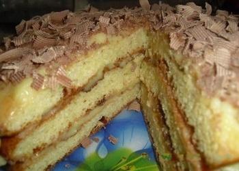 Gaisīgā biezpiena torte