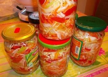 Kreptīgie dārzeņu salāti