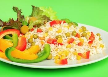 Gavēņa rīsi ar dārzeņiem