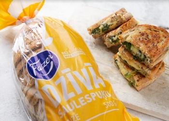 Mutē kūstošās maizītes ar spinātiem un sieru