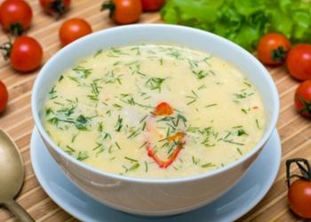 Piena dārzeņu zupa