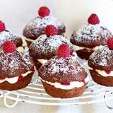 Šokolādes – vaniļas krēma kūciņas
