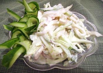 Kalmāru salāti majonēzē