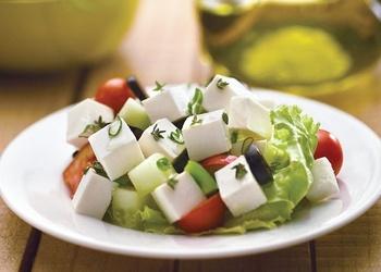 Grieķu Fetas siera salāti
