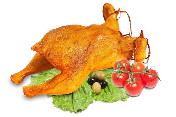 салат курица копченая