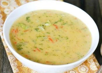 Siera zupa ar rīsiem