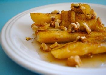 Печеные бананы