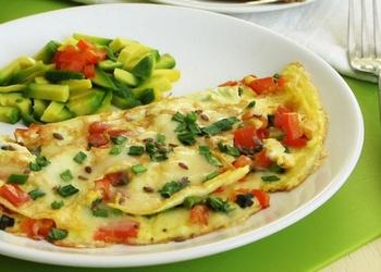 Dārzeņu omlete