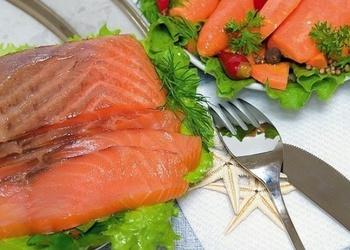 Sālīta sarkanā zivs - saldētavā