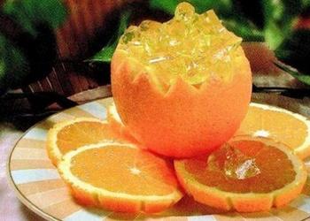 Apelsīnu želeja