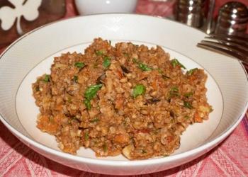 Griķi ar malto gaļu