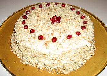 Krēms tortēm un kūkām - Vārītais krēms